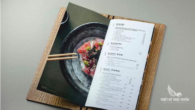 Menu đẹp | thư viện 100+ mẫu menu đẹp