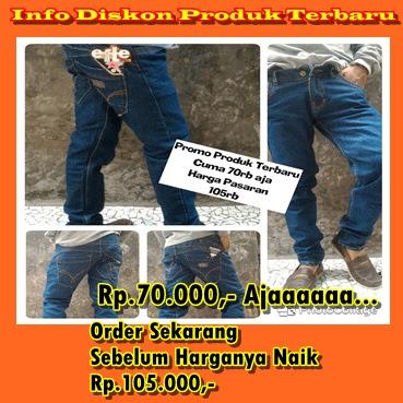 Celana Jeans Pria Termurah 70000