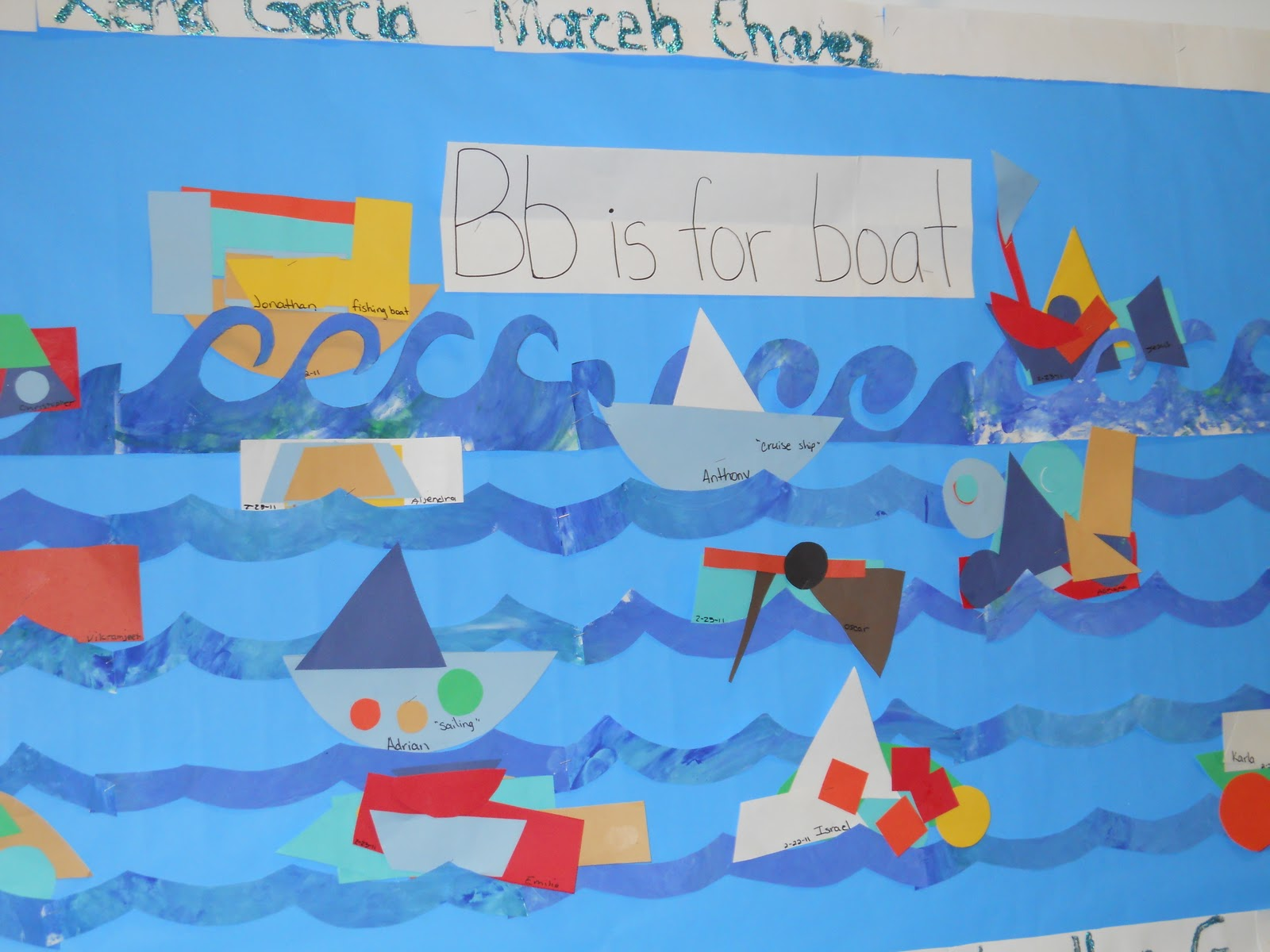 Learning And Teaching With Preschoolers B Is For Boat