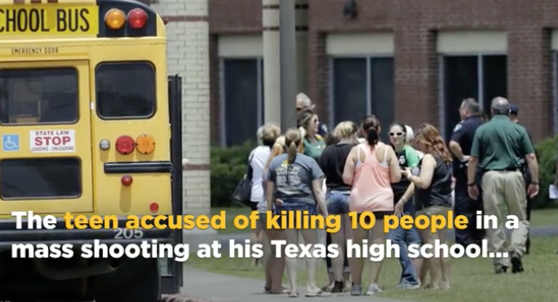 Accused Texas high school gunman described as bullied loner in a trench coat