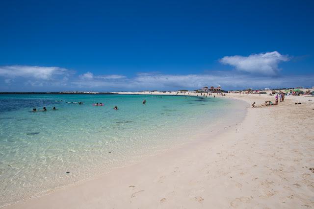 Spiaggia La concha-El Cotillo-Fuerteventura