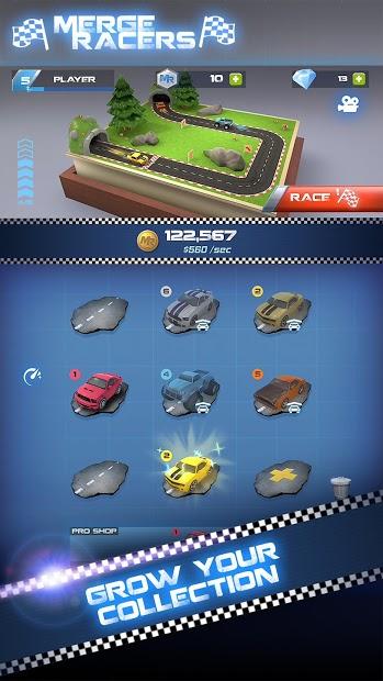 Merge Racers Sınırsız Para Hileli APK v1.0.8
