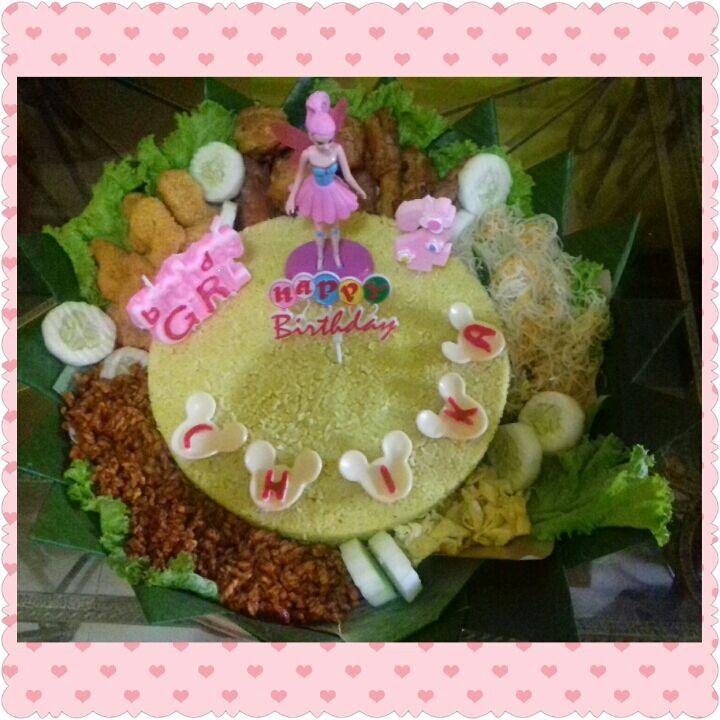 Tumpeng Nasi Kuning Ulang Tahun Citra Kartika Putri Wijaya Kota Tuban Catering Di Tuban