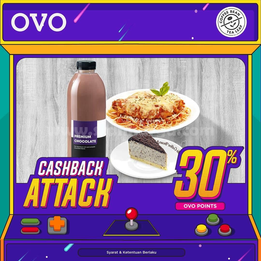 THE COFFEE BEAN Promo OVO CASHBACK ATTACK 30%