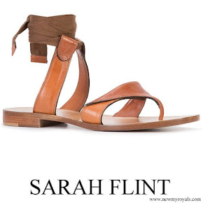 Meghan Markle wore SARAH FLINT Grear sandals