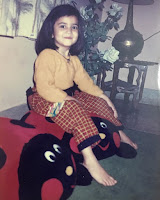 Kriti Kharbanda Childhood Photo