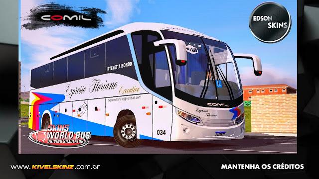 COMIL 1200 4X2 - VIAÇÃO EXPRESSO FLORIANO