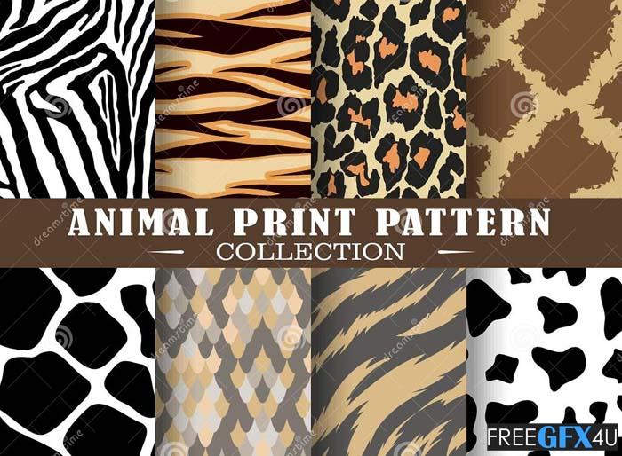 Animal Print Patterns Colloection