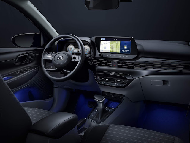 Novo Hyundai i20 2021 - painel - interior