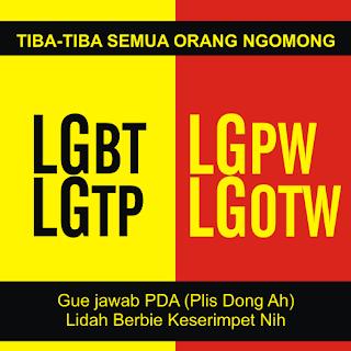 Meme Lucu LGBT Gambar Editan Terbaru