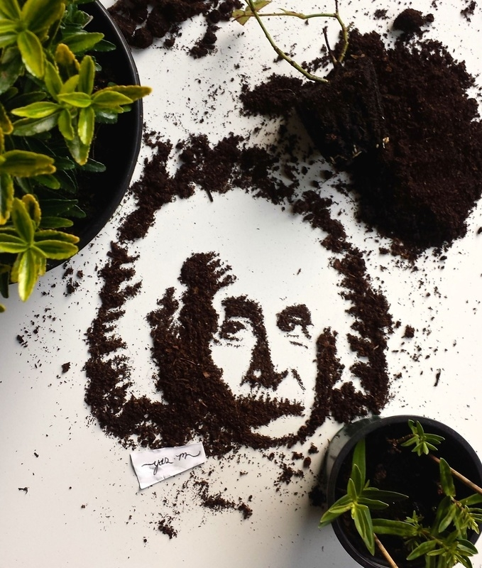 06-Earth-Albert-Einstein-Yaseen-Eclectic-Art-from-3D-to-Milk-Portraits-www-designstack-co