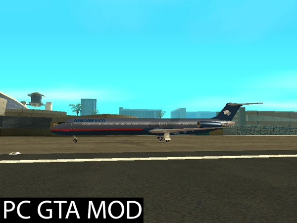 Free Download McDonnell Douglas MD-80 Aeromexico Old  Mod for GTA San Andreas.