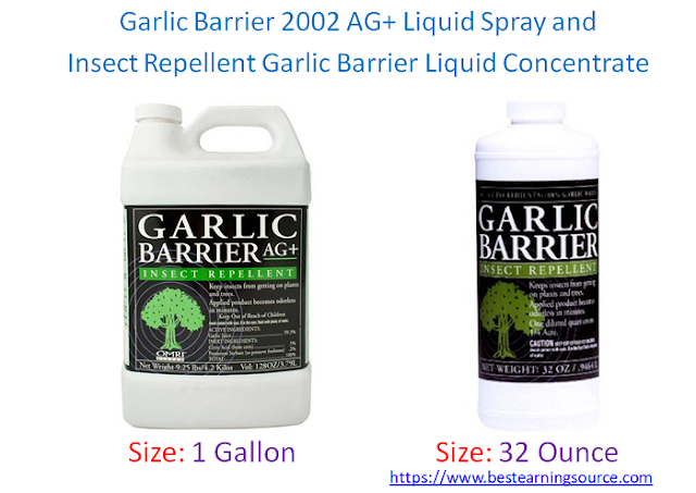Garlic Barrier 2002 AG+ Liquid Spray