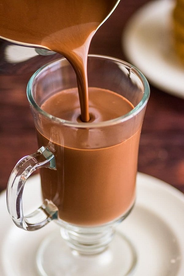 How hot chocolate works is easy