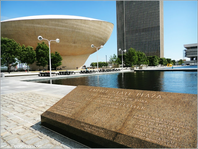 The Egg en el Empire State Plaza de Albany
