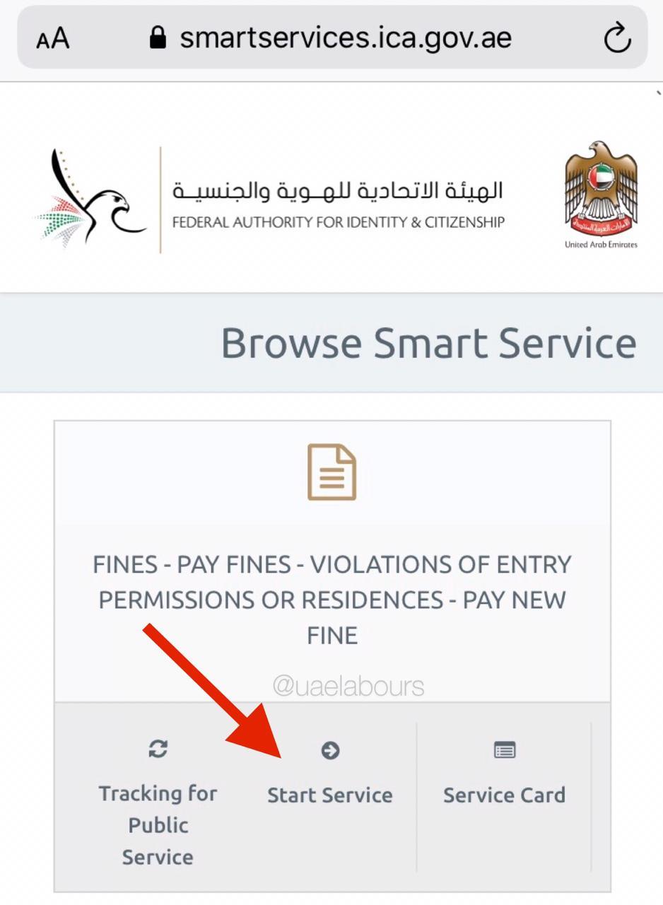 Overstay Fine in UAE