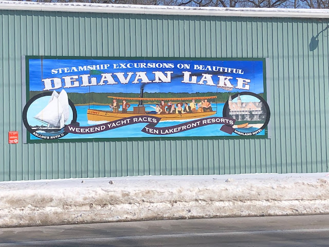 Delavan has long been known as a spot for tourists to enjoy the lake!