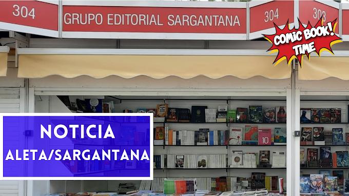 Editorial Sargantana celebra su sexto aniversario en la Feria del Libro de Madrid