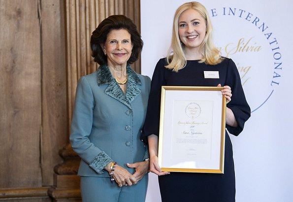 This year's scholarship recipients were Paulina Pergoł, Sara Nyström, Maiju Björkqvis and Annette Löser