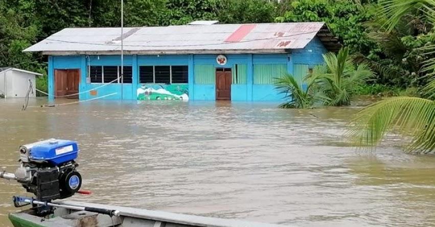 MINEDU apoya a comunidad afectada por inundaciones en Madre de Dios