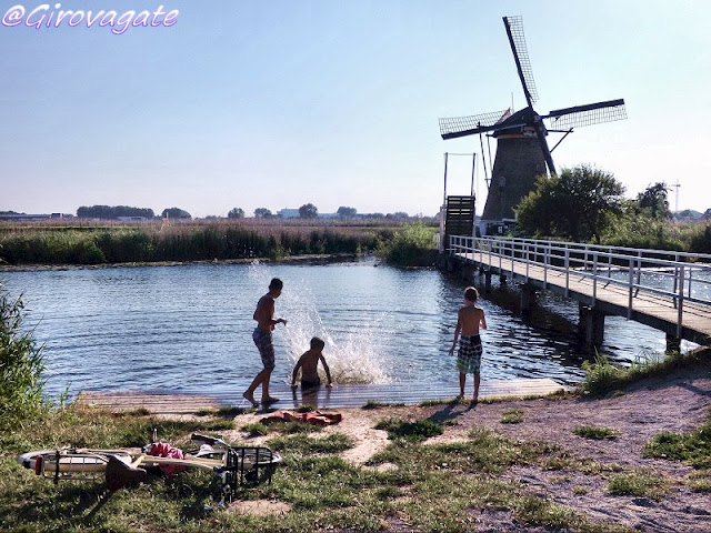 mulini vento kinderdijk olanda