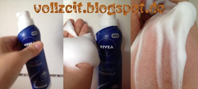 schaum mouse nivea dusch foam shower duft creme care pflege