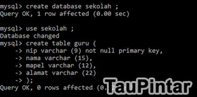 Cara Mudah Membuat Database di MySQL