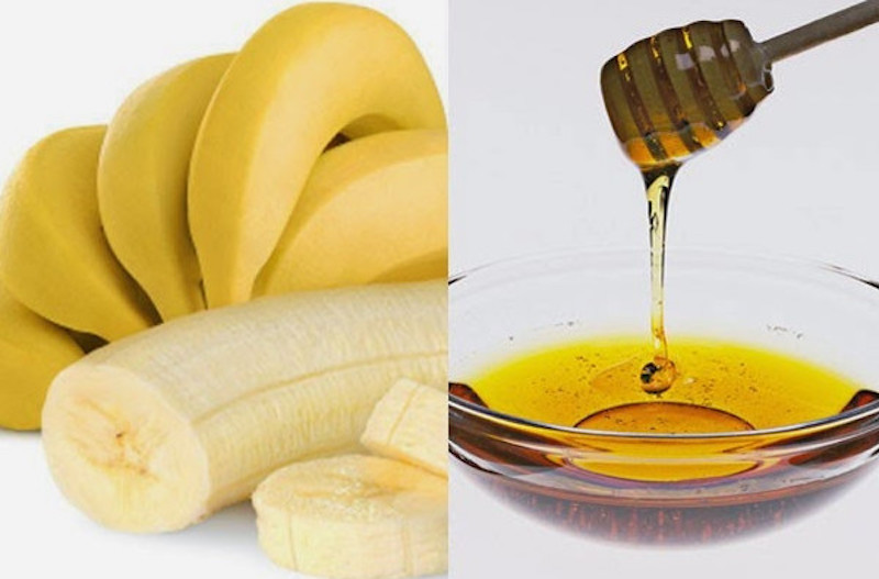 Banana- honey conditioner