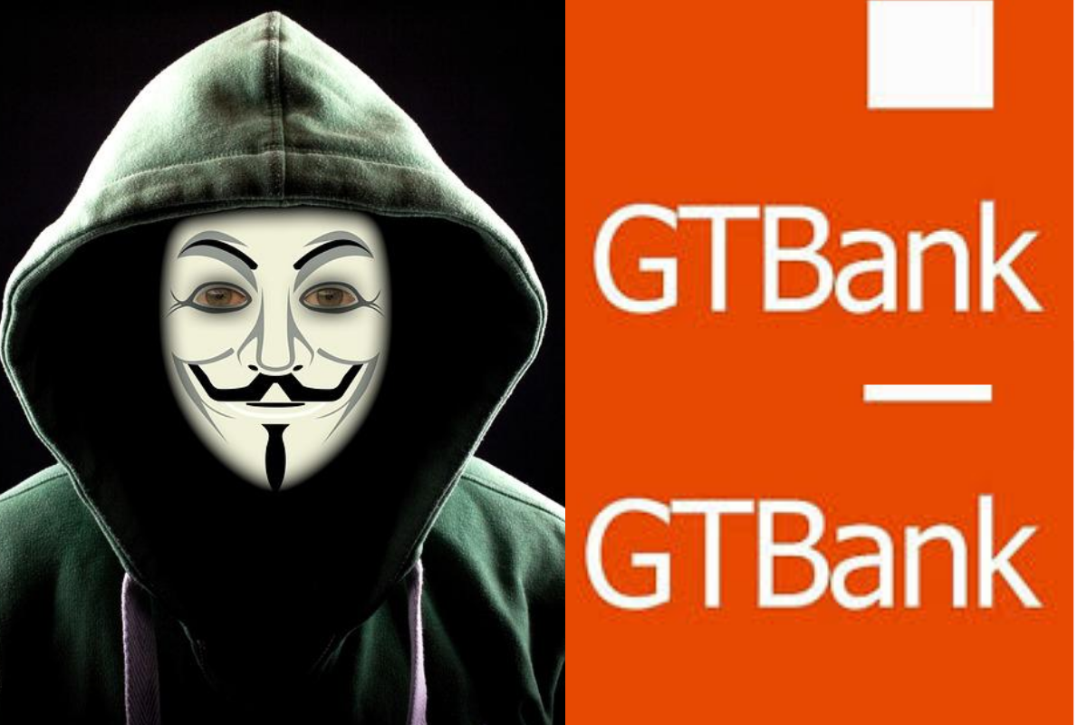 #EndSARS: Anonymous Allegedly Hacks GTBank, Customers Receive N5,000 #Arewapublisize