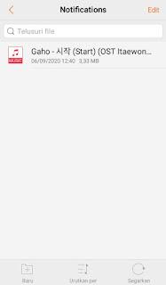 cara mengganti notifikasi wa di android