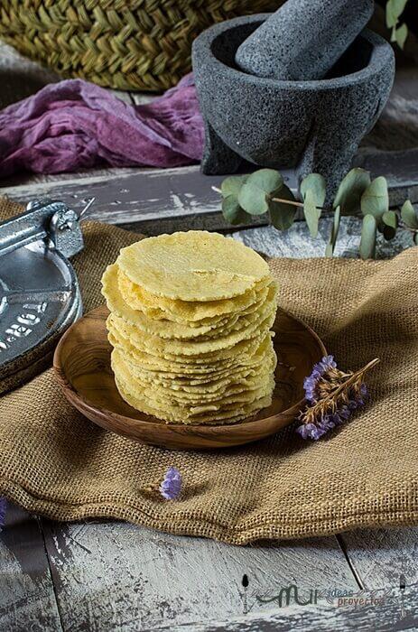 receta paso a paso de tortillas de maiz