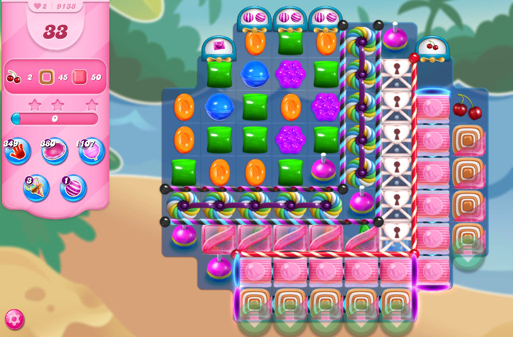 Candy Crush Saga level 9138
