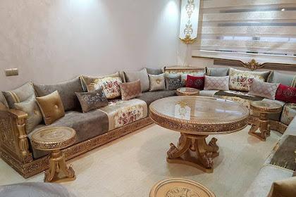 Salon Marocain 2019 Rouge
