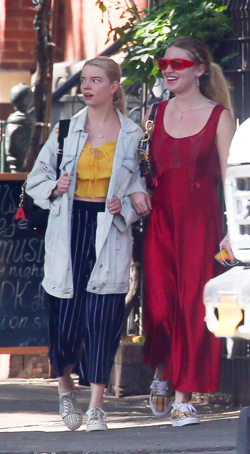 Anya Taylor-Joy Clicked Outside in New York 4 Sep-2019