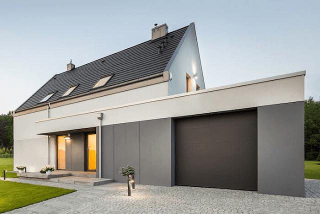 Desain Pintu Garasi untuk Rumah Minimalis