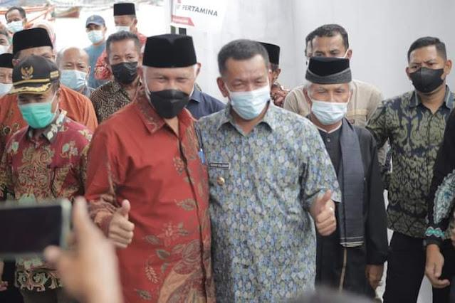 Nelayan Mengeluh, Gubernur Sumatera Barat Bersama Bupati Pesisir Selatan Datang Resmikan SPBUN TPI,