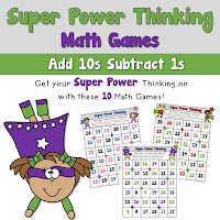 Addition Add 10s Super Power Thinking