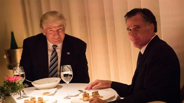 Donald Trump calls Mitt Romney to say he's not becoming secretary of state