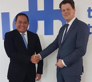 Bupati Muba Perjuangkan Sawit Indonesia Dalam Pertemuan Deklarasi Unilever - Amsterdam