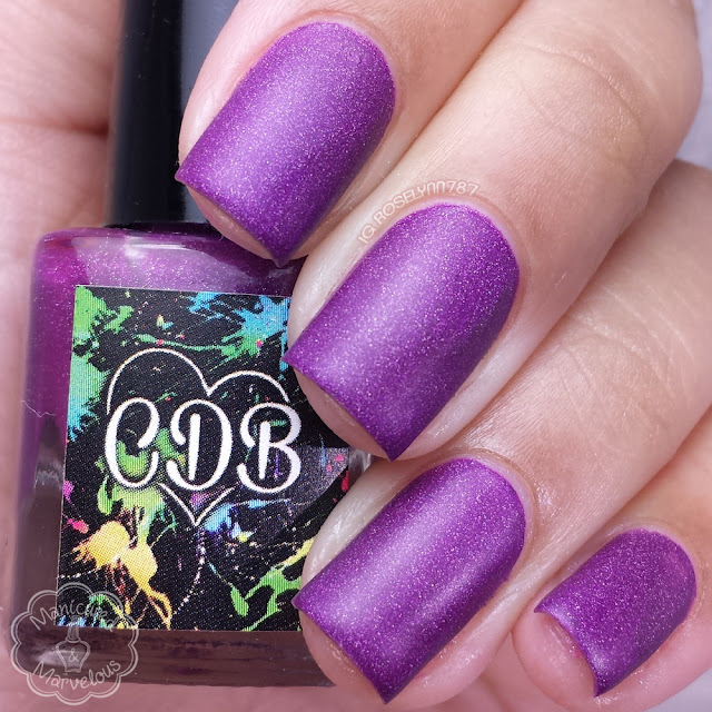 CDB Lacquer - Shady Purple