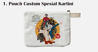 Pouch Custom Spesial Kartini merupakan salah satu rekomendasi souvenir spesial di hari kartini
