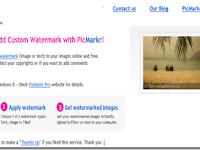 PicMarkr, Berikan Watermark Untuk Gambar Secara Online