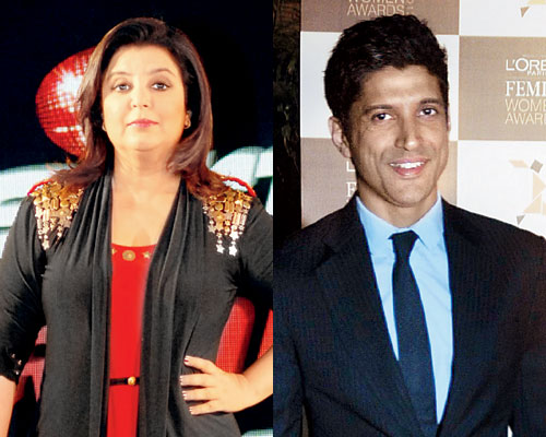 Happy Birthday Farah Khan and Farhan Khan