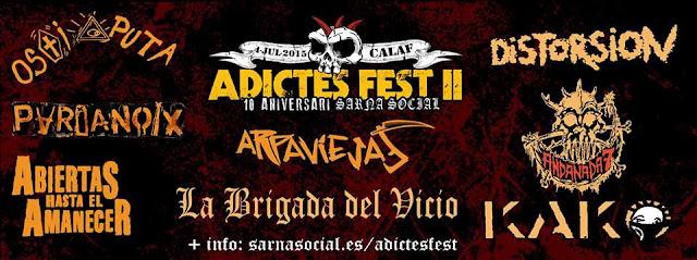 Concierto Arpaviejas en Adictes Fest II, Calaf