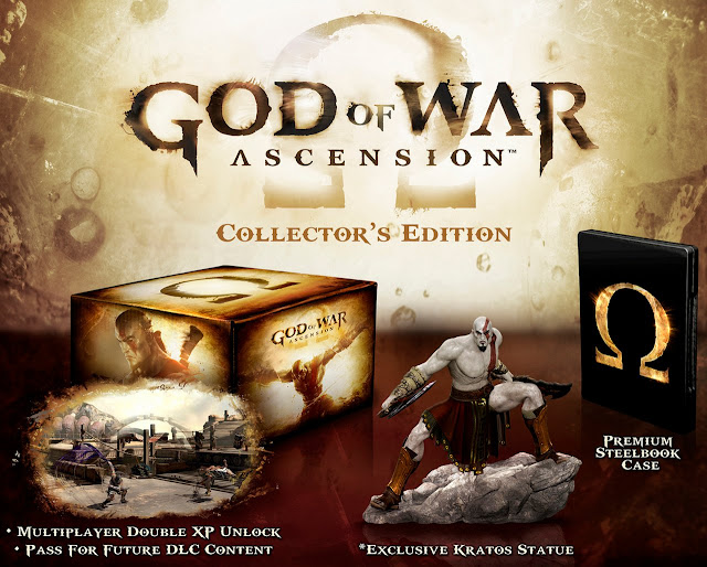 collector god of war acsension