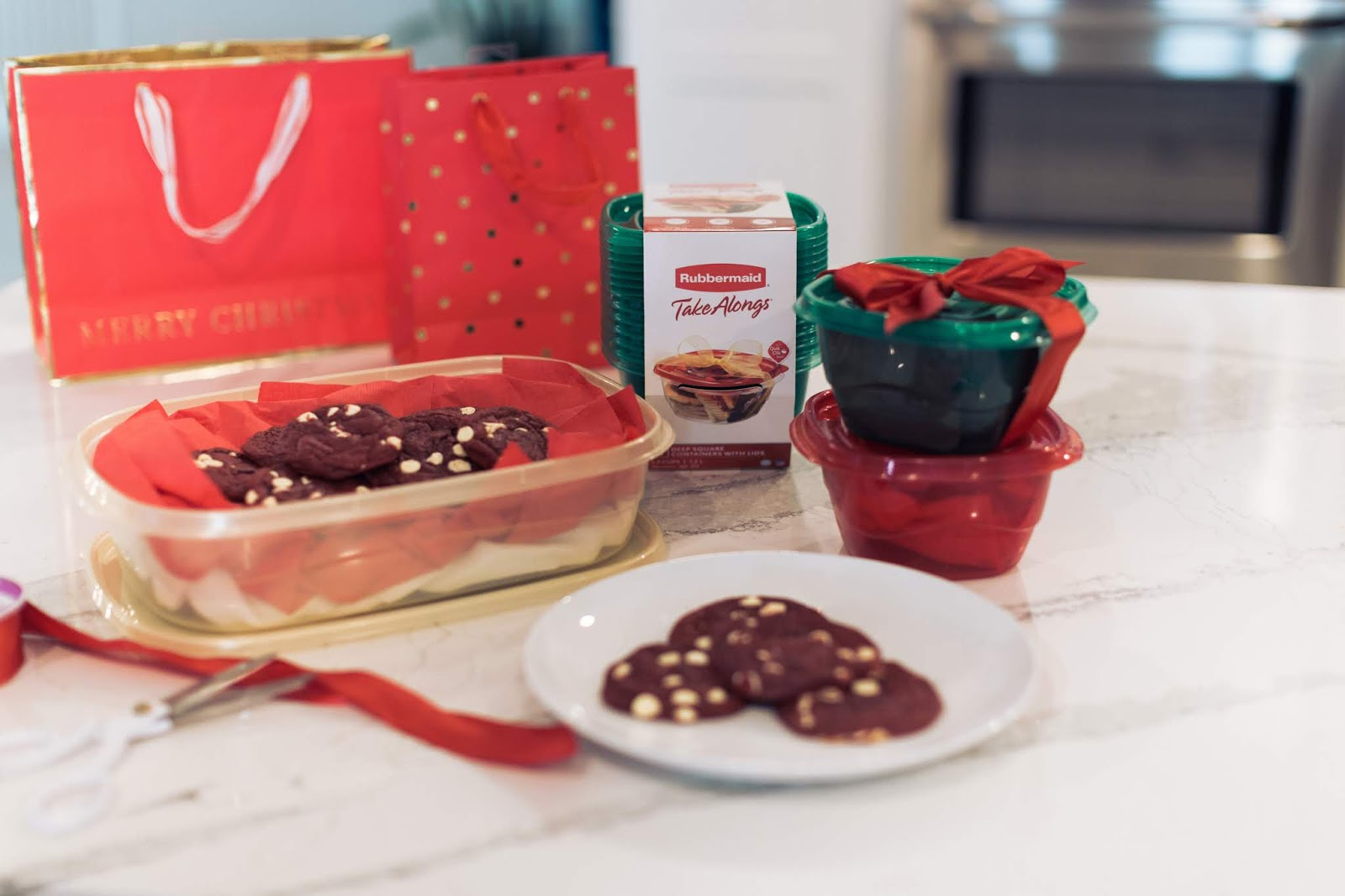 Homemade Christmas Cookie Gifts by The Celebration Stylist