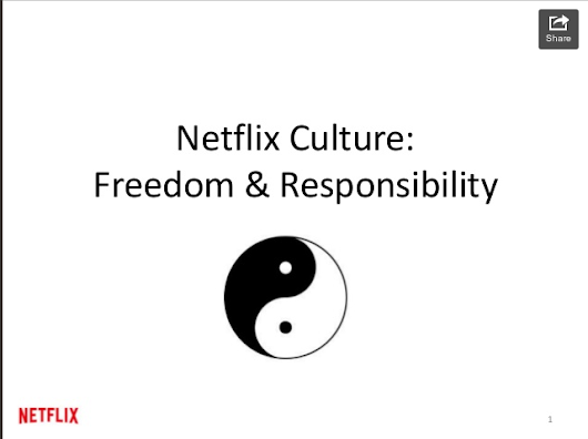 Culture - Working at Netflix Part 1