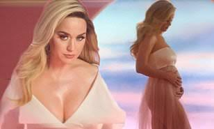 Katy Perry Reveals Pregnancy News together with her New Music Video Teaser