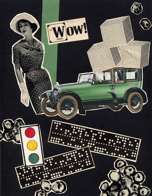 Wacky car collages