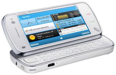 Diseño conceptual de teléfono Nokia futurista